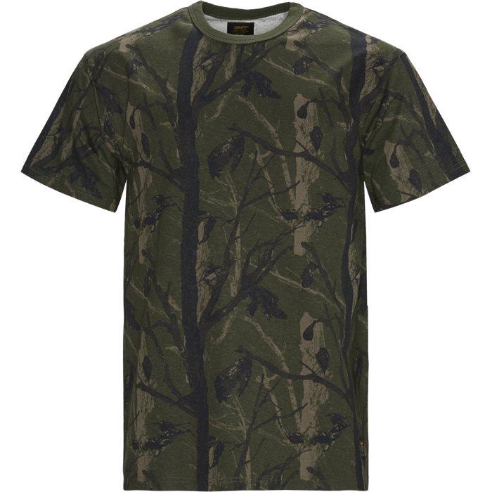 T-shirts - Regular - Grön